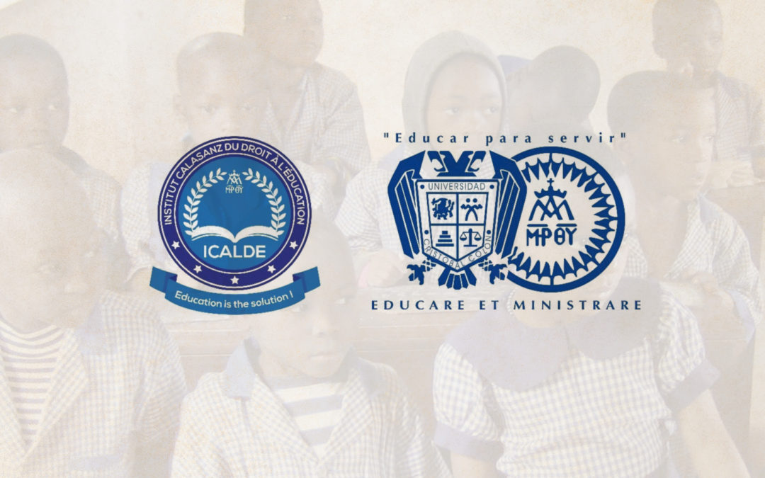 The General Congregation of the Pious Schools creates the Calasanz Institute for the Right to Education (ICALDE)
