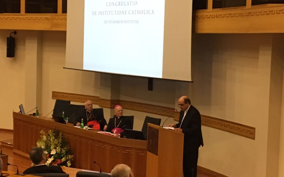 To the Plenary of Congregation for Catholic Education