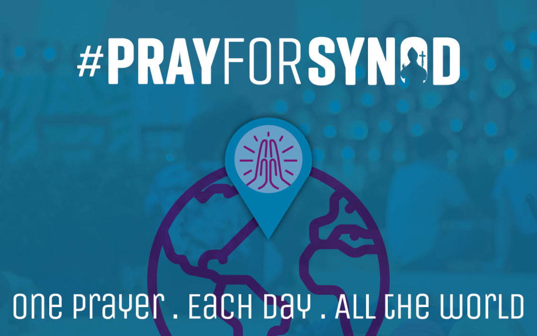 #PrayForSynod, live a CONTINUOUS PRAYER of youth in all the world
