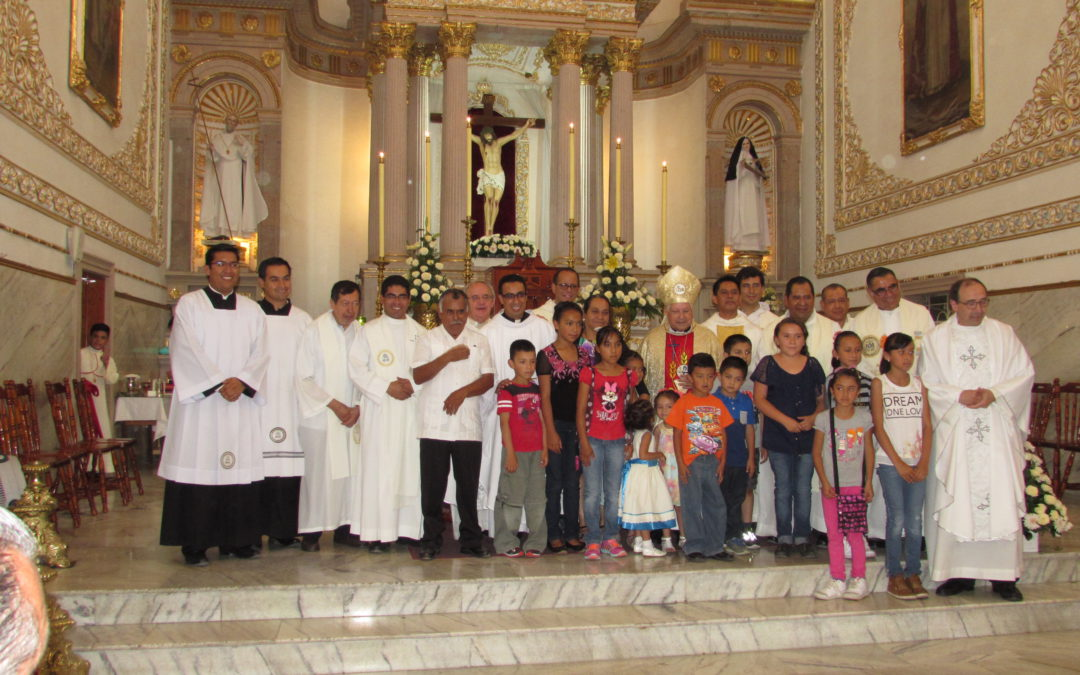 Priestly ordination of Ruben Plata Avalos