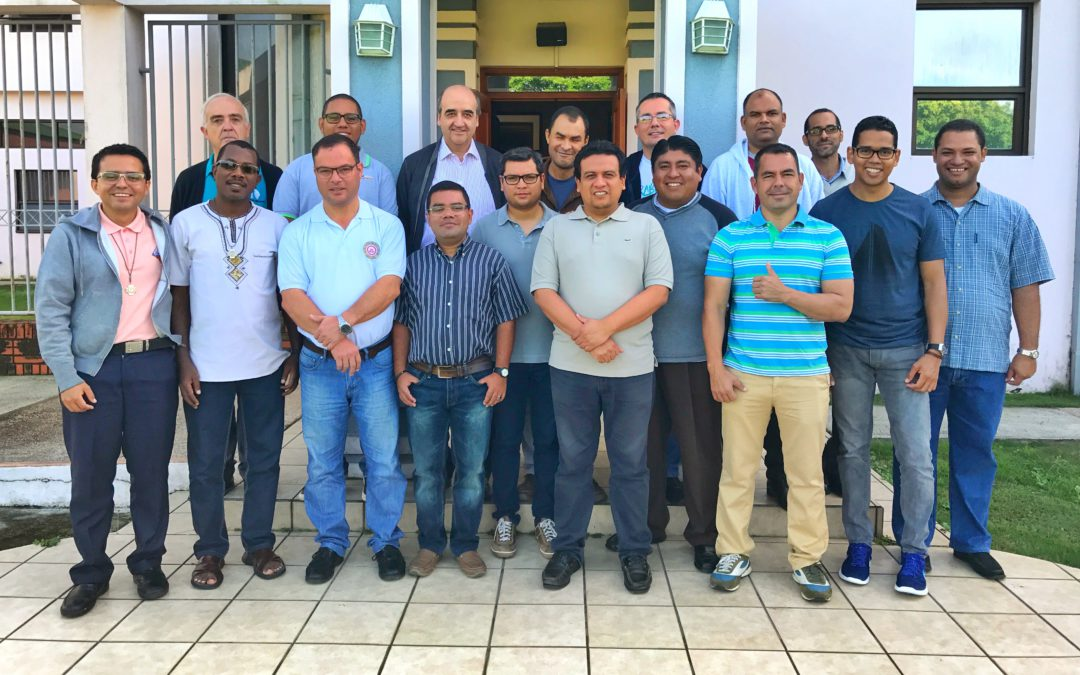 Meeting of young-adult religious of the Province Central America – Caribbean