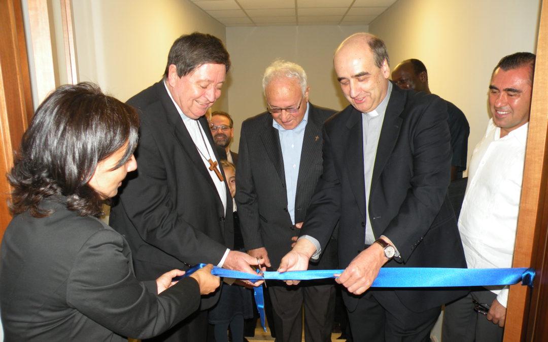 Inauguración en el Colegio Nazareno de Roma