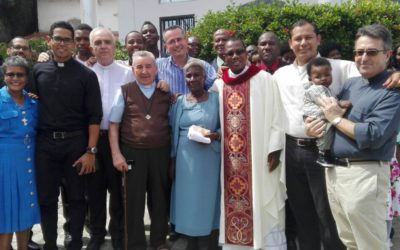 Ordination sacerdotale d' Alain Fadeau Poudy en Haïti
