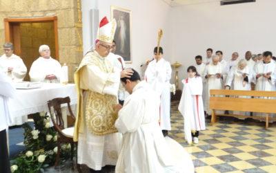 Diaconal ordination of Tommaso di Luca to Monte Mario