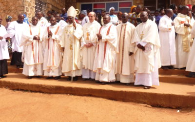 Visit of Fr. General and Fr. Pierre Diatta to Cameroon