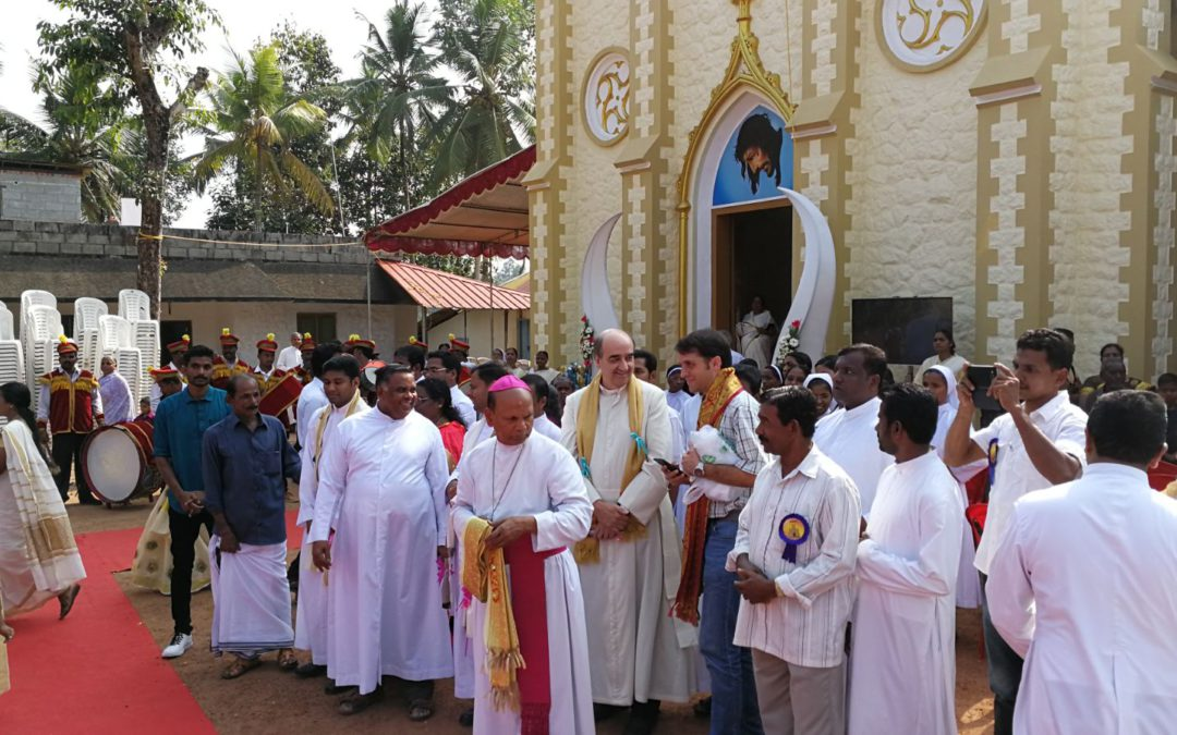 Ordinazione sacerdotale di Abhilash Appu in India