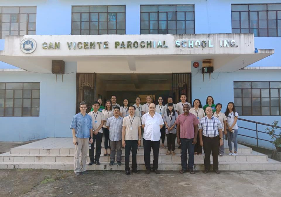 Canonical Visit of Fr. General at San Vicente, Philippines