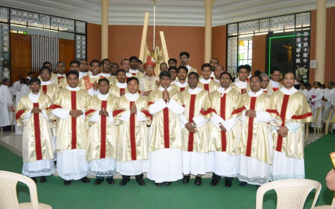 Solemn Profession and Diaconal Ordination in India