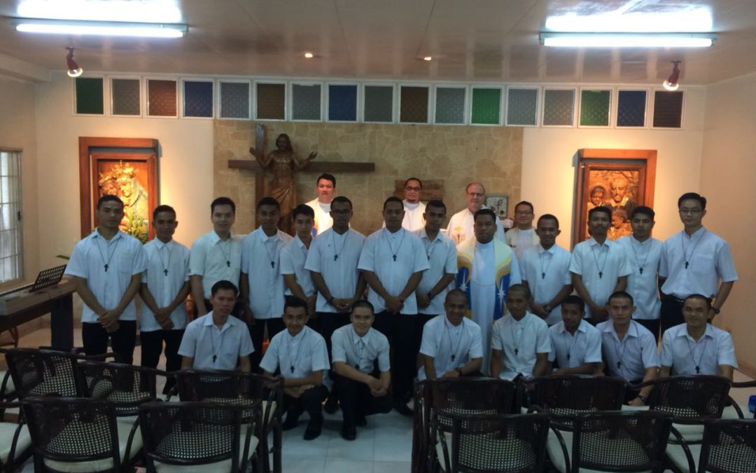 Acceptance to the Novitiate in Japan-Philippines
