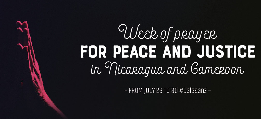 Week of Prayer for Peace and Justice in Nicaragua and Cameroon