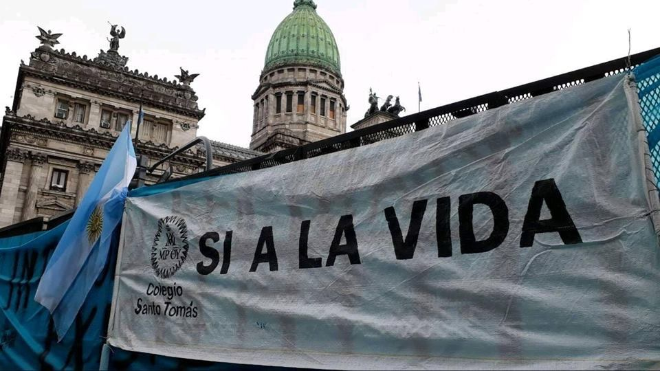 Piarists together with the Argentine people defending life from conception