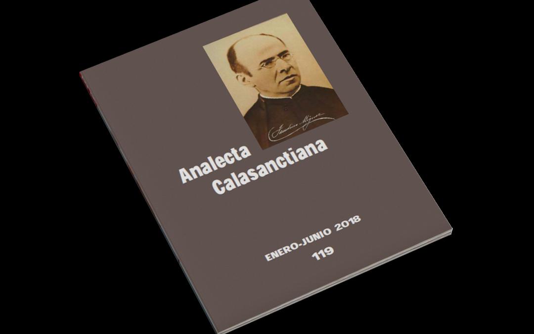 Analecta Calasanctiana 119 Ian-Iun 2018