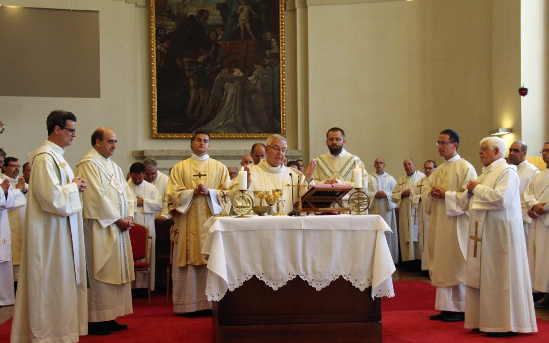 Priestly ordination of Lehel Molnár and diaconical of János Balla in Hungary