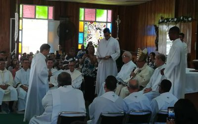 Ordenación diaconal en Centroamérica y Caribe