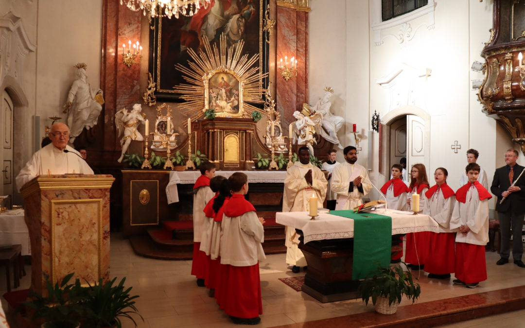 First Mass in Austria