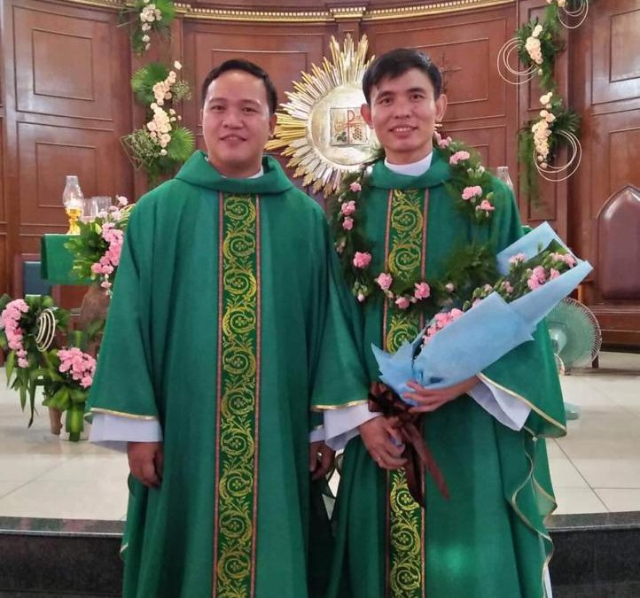 Priestly ordination in Manila