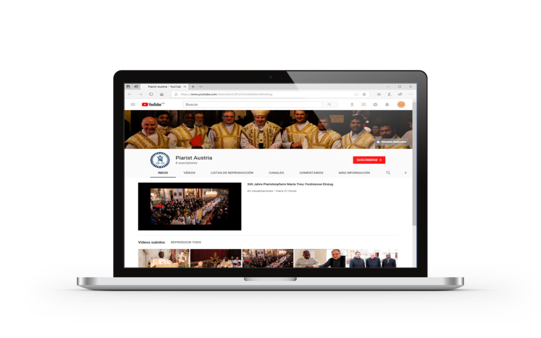 New Youtube channel of the Piarists Austria | Order of the Pious Schools