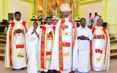 Viceprovince of India. Priestly ordination of Jijo Martin