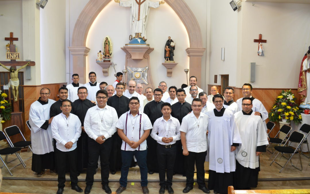 Simple Professions and Novitiate Start in Mexico