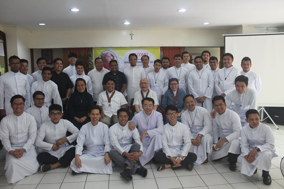 Pastoral Visit of Bishop Honesto F. Ongtioco, DD, to our Juniorate Community