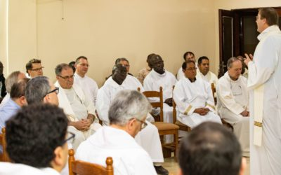 Second Day of the Council of Major Superiors
