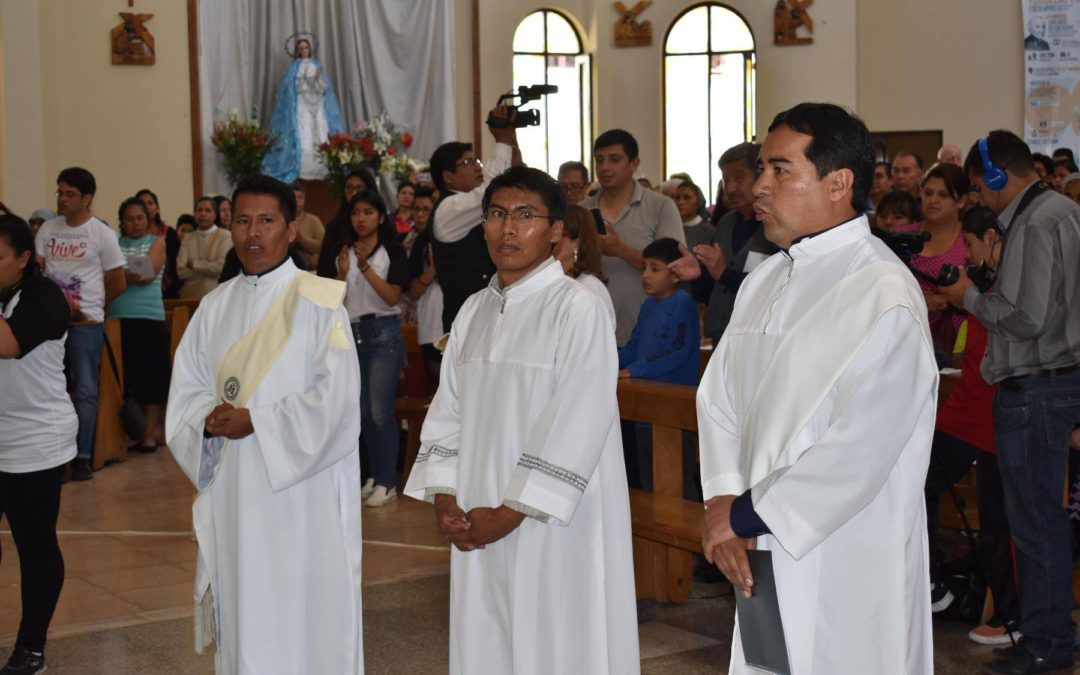 Priestly and Diaconal ordinations in the Province of Brazil Bolivia