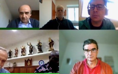 The General Congregation holds its meetings, in online mode