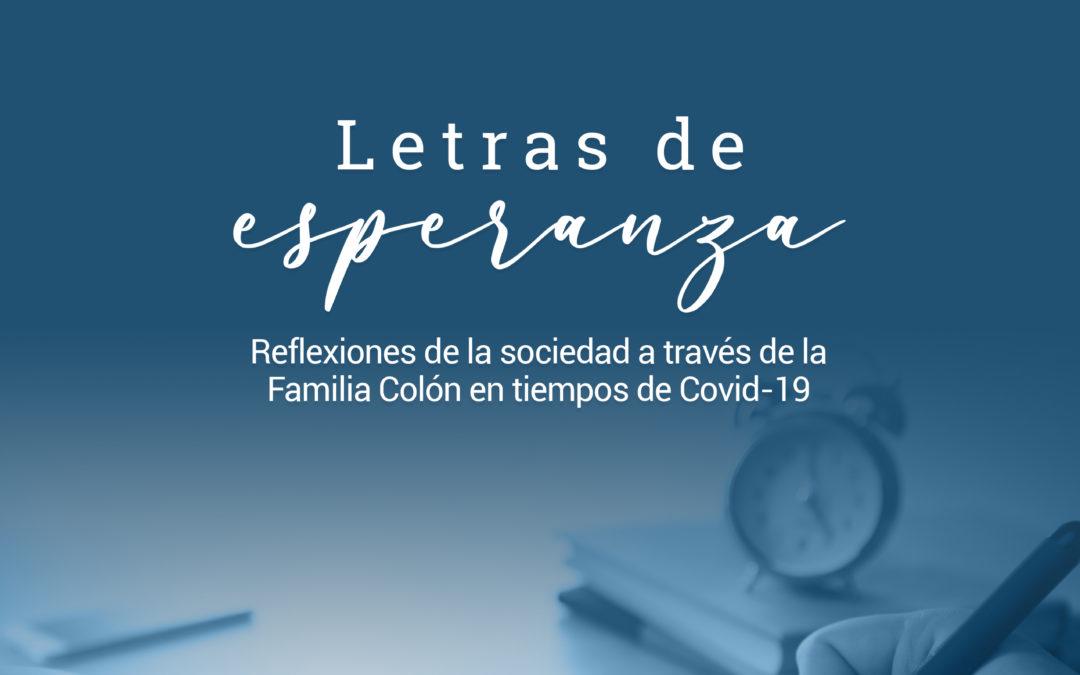 """""""Letras de esperanza"""": libro digital de la Universidad Cristóbal Colón con mensajes de ánimo ante la contingencia sanitaria"""