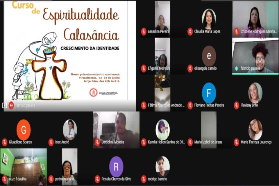 Brasil: curso de espiritualidad de calasancia