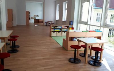 St. Thekla (Vienna, Austria): New class and after-school group opened