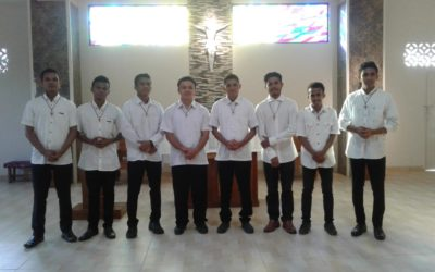 Admission to the Novitiate in Indonesia