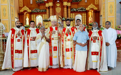 Vice-Province of India. Priestly Ordination of Shanto Joseph Podimattathil