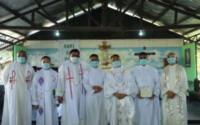 Province of Asia Pacific. Solemn Profession of Vows of Br. Felix and Br. Luu