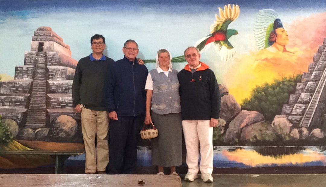 On the eve of the Piarist foundation in Guatemala