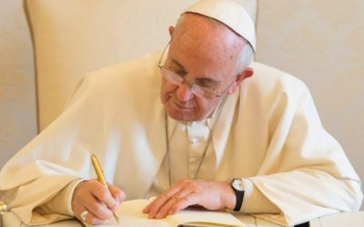 Message from Pope Francis to Fr. General on the occasion of the Global Educational Compact