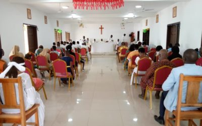 West African Province. Inauguration and blessing of the juniorate of theology Saint Joseph Calasanz of Abidjan
