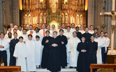 Beginning of Novitiate and Simple Profession in Argentina