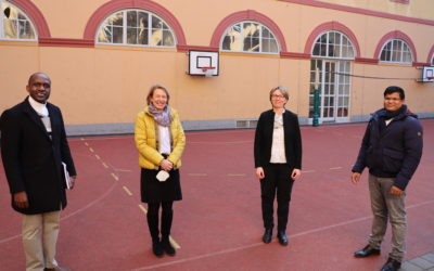 Province of Austria. Presentation of the new primary school director in Maria Treu