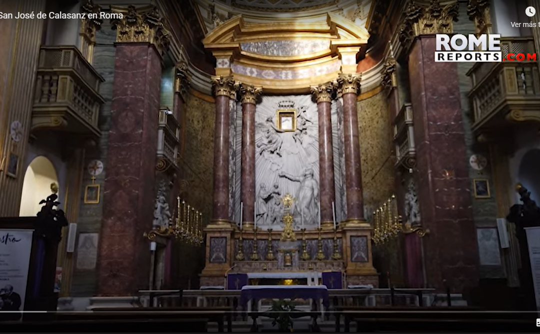 The footsteps of St. Joseph of Calasanz in Rome