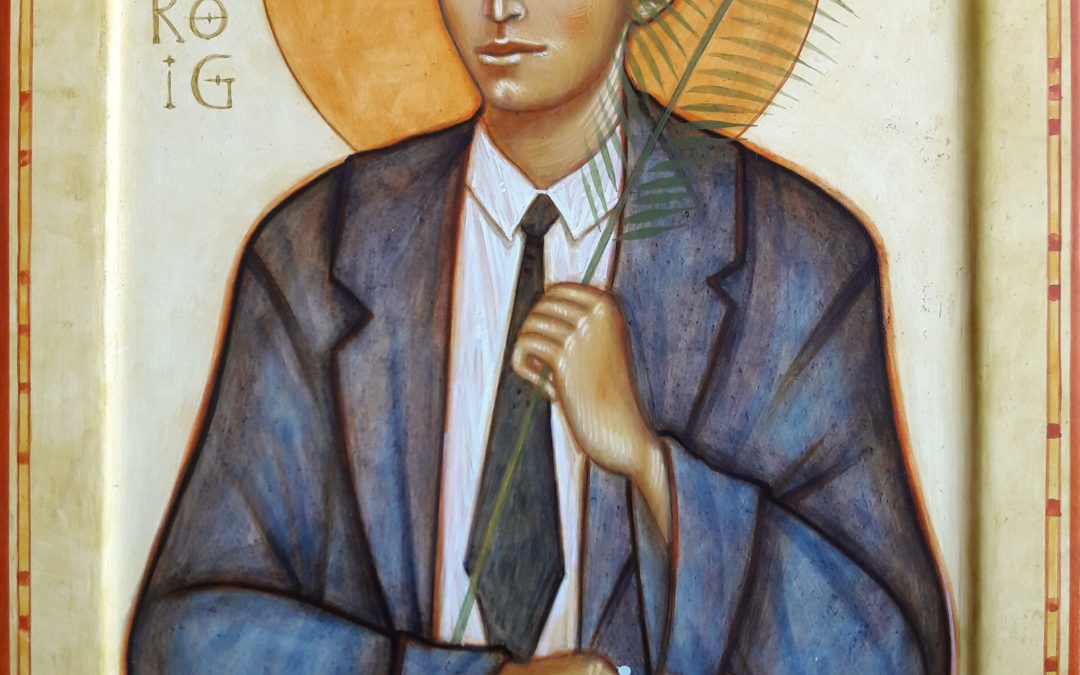 Province of Argentina. Icon of Blessed Joan Roig i Diggle