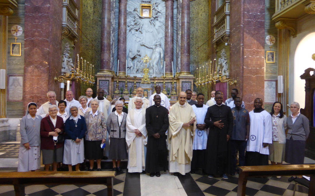 Solemn Profession and Acolytate in San Pantaleo
