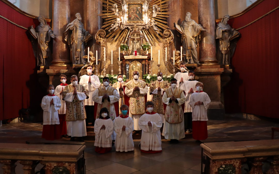 Province of Austria. Maria Treu: Jubilee of the consecration of the church in Vienna
