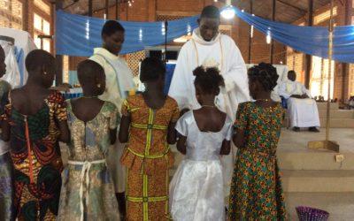 Provincia de África Occidental. Visita a Zingan en Burkina Faso