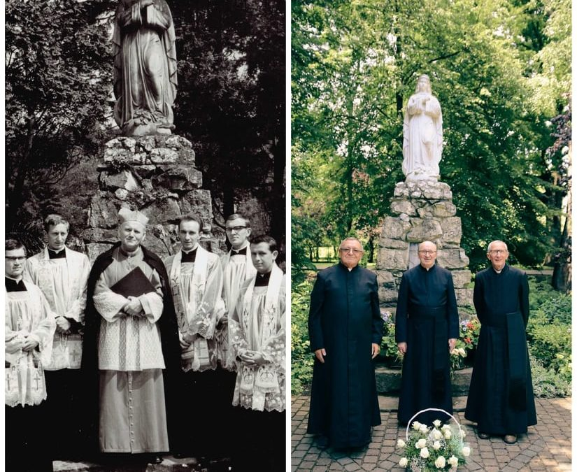 Province of Poland. Great joy for the celebration of the 50th anniversary of priestly ordination